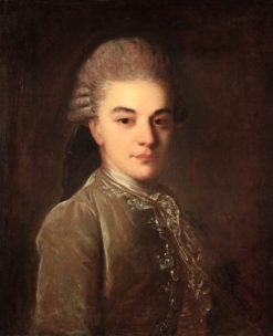 Portrait of Alexander Rimsky-Korsakov | Fedor Rokotov | Oil Painting