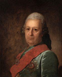 Portrait of Alexander Obreskov | Fedor Rokotov | Oil Painting