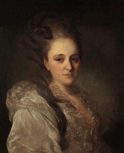 Portrait of Varvara Obreskova | Fedor Rokotov | Oil Painting