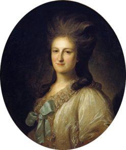 Portrait of Varvara Novosiltseva | Fedor Rokotov | Oil Painting