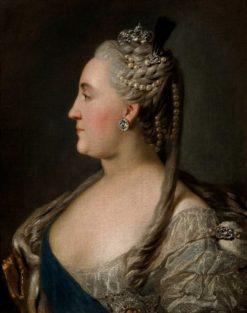 Portrait of Catherine II | Fedor Rokotov | Oil Painting