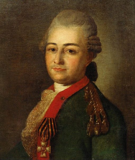 Portrait of P.A. Akinfov   Fedor Rokotov   Oil Painting