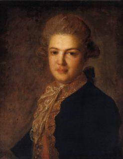 Portrait of Count A.I. Vorontsov | Fedor Rokotov | Oil Painting