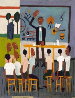 Booker T. Washington Legend | William Henry Johnson | Oil Painting