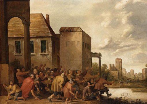 The Pool of Bethesda | Joost Cornelisz. Droochsloot | Oil Painting