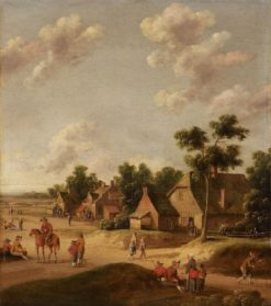 Dutch Village | Joost Cornelisz. Droochsloot | Oil Painting