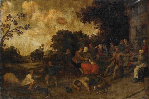 The Prodigal Son   Joost Cornelisz. Droochsloot   Oil Painting