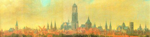 Panorama Utrecht   Joost Cornelisz. Droochsloot   Oil Painting