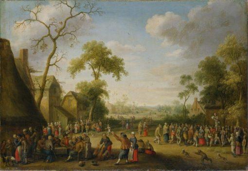 Village Scene | Joost Cornelisz. Droochsloot | Oil Painting