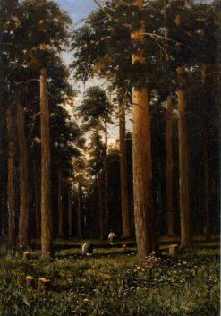 In the Forest | Mikhail Tkachenko | Oil Painting