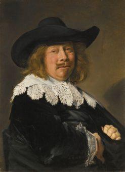 Portrait of a Gentleman   Frans Hals   Oil Painting