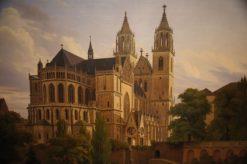 Magdeburg Cathedral | Carl Hasenpflug | Oil Painting
