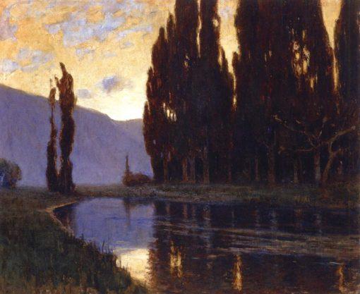 Evening | Mikhail Tkachenko | Oil Painting