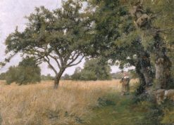Brittany Landscape | Hugh Bolton Jones | Oil Painting