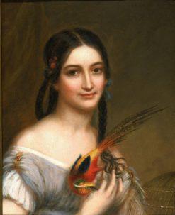 Miss Satterlee | Charles Bird King | Oil Painting
