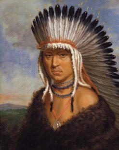 Petelesharro (Generous Chief) | Charles Bird King | Oil Painting