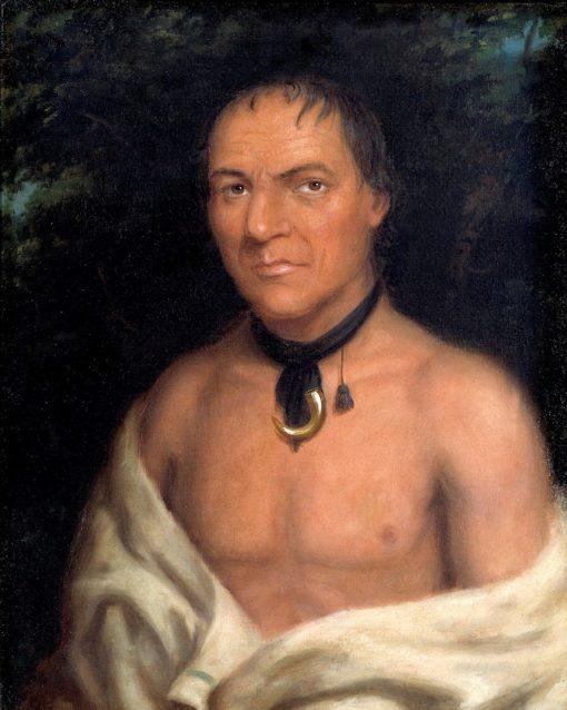 Co-sne-boin   Charles Bird King   Oil Painting