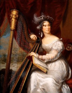 Mrs. John Quincy Adams | Charles Bird King | Oil Painting