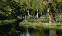 Forest Stream | Mikhail Tkachenko | Oil Painting