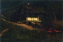 Moonlit Night | Mikhail Tkachenko | Oil Painting