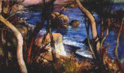 At the Shore | Mikhail Tkachenko | Oil Painting