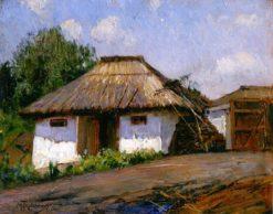 At the Farm | Mikhail Tkachenko | Oil Painting