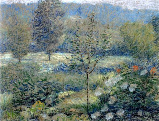 A Corner of the Garden | Daniel Kotz | Oil Painting