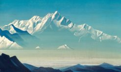Mount of Five Treasures | Nicholas Roerich | Oil Painting