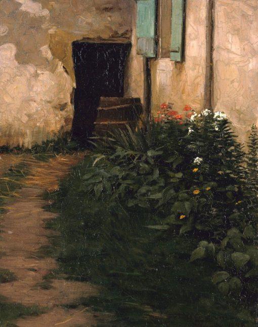 A Garden Path   Robert Henry Logan   Oil Painting