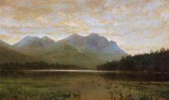 Upper Ausable Lake   Homer Dodge Martin   Oil Painting