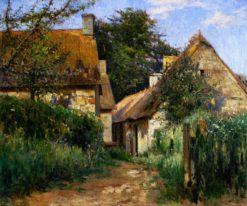 Village Street | Mikhail Tkachenko | Oil Painting