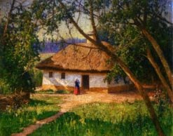 A Cottage | Mikhail Tkachenko | Oil Painting