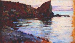 Coastal Scene | Mikhail Tkachenko | Oil Painting