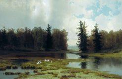 Landscape | Arseny Meschersky | Oil Painting