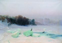Ice Cutting | Arseny Meschersky | Oil Painting