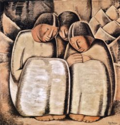 Las Hermanas (also known as The Sisters) | Alfredo Ramos Martinez | Oil Painting