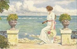 At the Seaside | Paul-Gustave Fischer | Oil Painting