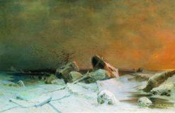 Ice Breaking | Arseny Meschersky | Oil Painting