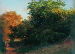 Forest in Crimea | Arseny Meschersky | Oil Painting