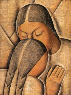 Abrazo Maternal (also known as Maternal Embrace) | Alfredo Ramos Martinez | Oil Painting