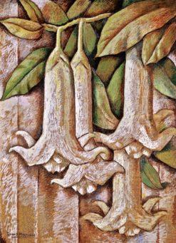 Los Floripondios (also known as Trumpet Flowers) | Alfredo Ramos Martinez | Oil Painting