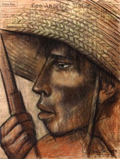 Cabeza de Campesino (also known as Head of a Peasant)   Alfredo Ramos Martinez   Oil Painting