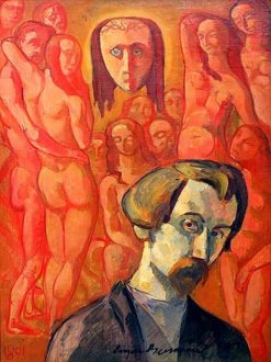 Self Portrait | Emile Bernard | Oil Painting