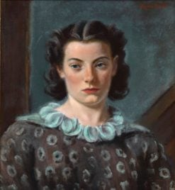Maureen (also known as The Spotted Blouse) | Eugene Speicher | Oil Painting