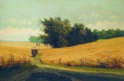 Fields | Arseny Meschersky | Oil Painting