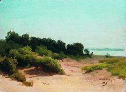 Coastal Landscape | Arseny Meschersky | Oil Painting