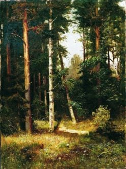 Path in the Woods | Arseny Meschersky | Oil Painting