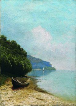 Coastal Scene | Arseny Meschersky | Oil Painting