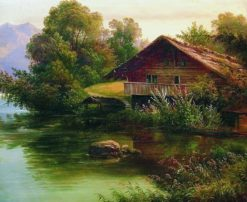 At the Water's Edge | Arseny Meschersky | Oil Painting