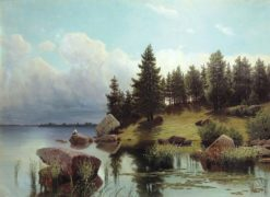 Forest Lake | Arseny Meschersky | Oil Painting